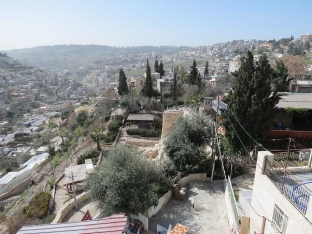 Kidron Valley West side