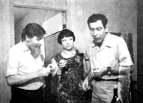Андрей Синявский, Нина Воронель и Юлий Даниэль