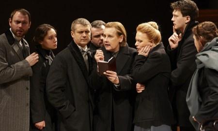 Сцена из спектакля Русский роман театра Маяковского - предоставлено пресс-службой театра