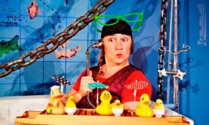 """""""Пират в ванной"""". Фото Дафи Спунер"""