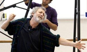 Борис Эйфман на репетиции. Фото: Станислав Беляевский