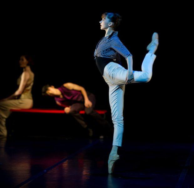 "Катерина Шалкина в балет ""Anima Blues"". Фото: Lauren Pasche"