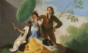 """Зонтик"", 1777 Масло на холсте. © Madrid, Museo Nacional del Prado"