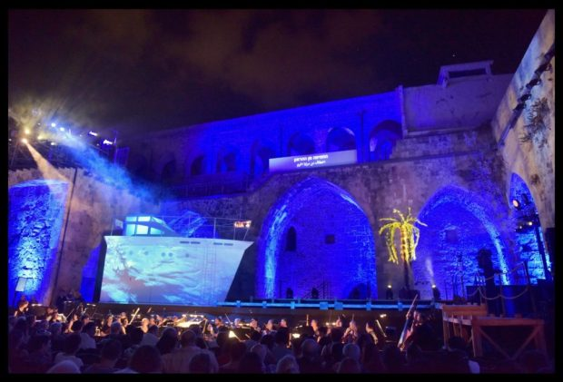 Фестиваль Оперы в Акко летом 2016 года. Фото - Йосси Цвекер