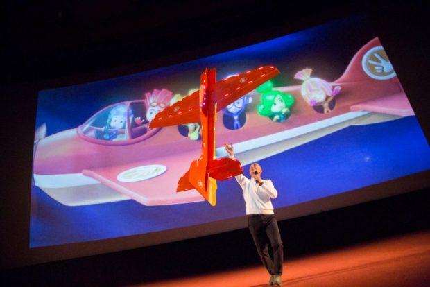 Георгий Васильев на премьере фильма «Фиксики. Большой секрет» 27 октября 2017 года. Фотограф Евгения Свиридова
