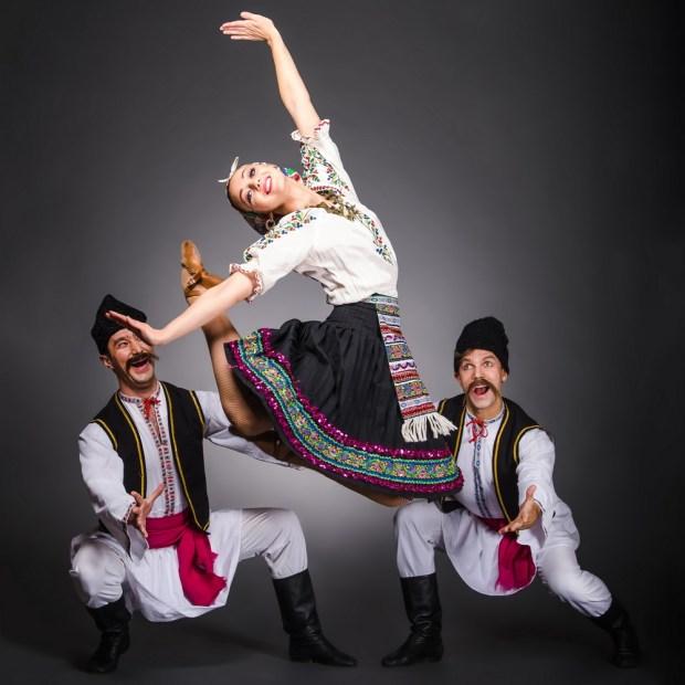 "Молдавский шуточный танец ""Табакэряска"". Фото © Е. Масалков"