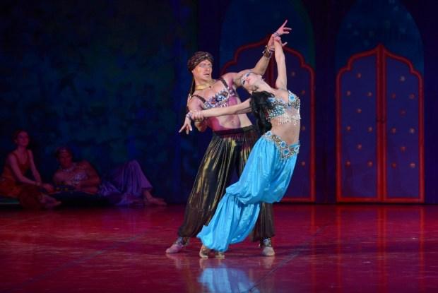 Балет «Шехерезада». Фото © Елена Лапина