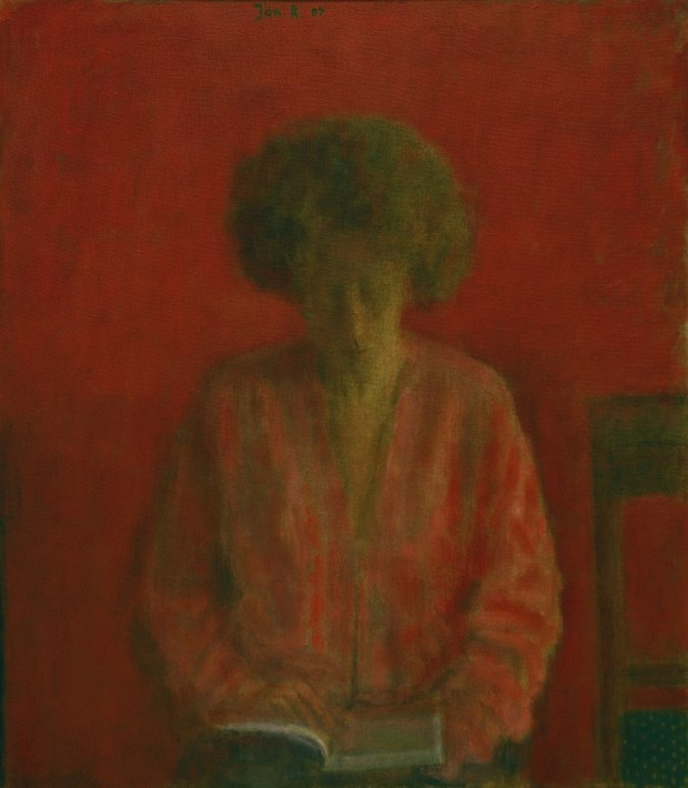 Jan Rauchwerger. Galit, Red Portrait, 2007