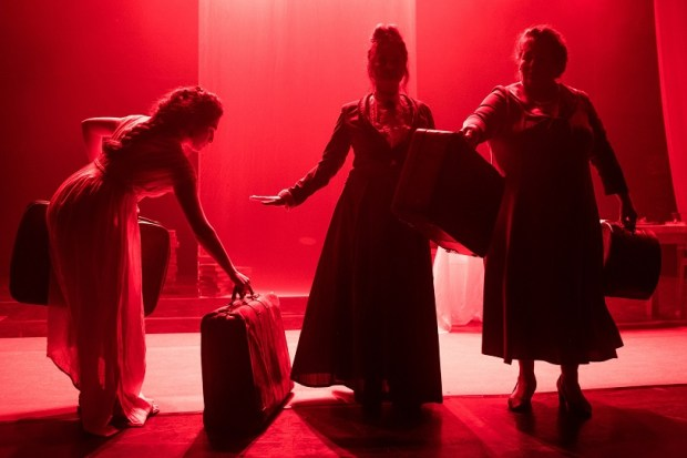 Сцена из спектакля «Революционерки». Фото: © Давид Каплан