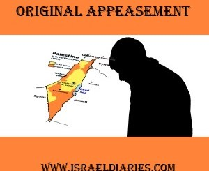 Israel's First Step Was Appeasement