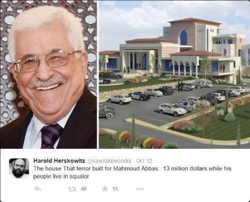 palestinian arabs mahmoud abbas