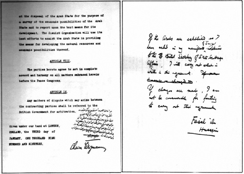 The Feisal Weizmann Agreement Is Not What It Appears