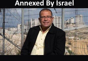 Bassem Eid - annex the West Bank