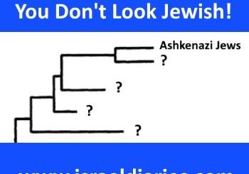 Population genetics map, Jewish DNA