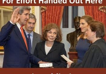"Dear John Kerry: No ""E's"" For Effort Here"