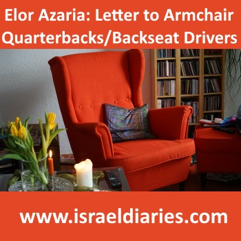 Azaria Verdict A Letter To Armchair Quarterbacks Backseat Drivers