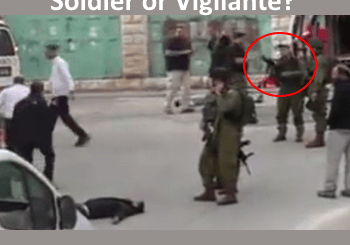 Elor Azaria - Hebron shooting incident