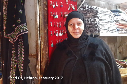women in Hebron