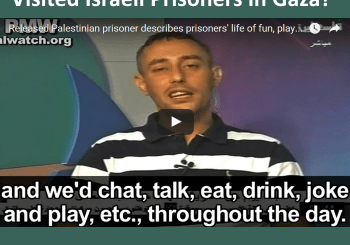 Released Pali Arab prisoners talks about his easy time in Israeli prison