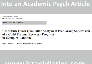 title of psych article showing propaganda
