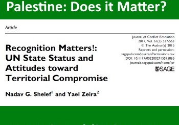 UNGA recognition of Palestine: Does it Matter?