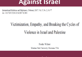 academic propaganda against Israel