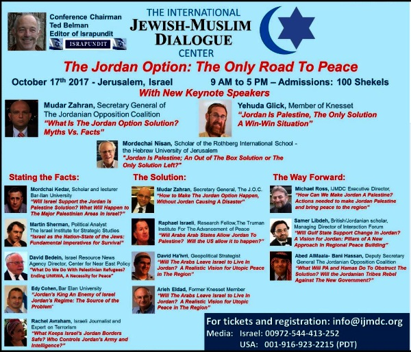 jordan is palestine conference programme
