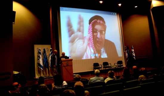 Mudar Zahran at Jordan is Palestine Conference