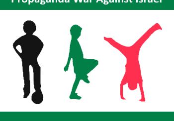Using kids in propaganda war against israel