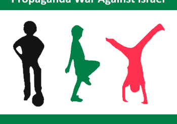 Using kids in propaganda war against israel