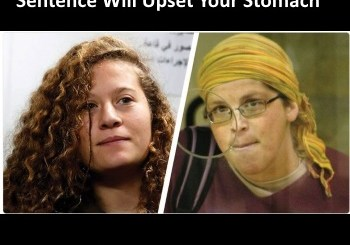 Ahed Tamimi and Yifat Alkobi