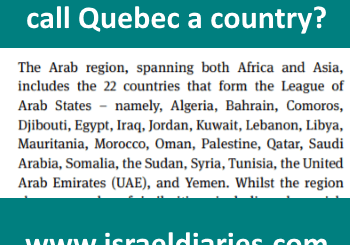 Dear Editor: would you call Quebec a country?
