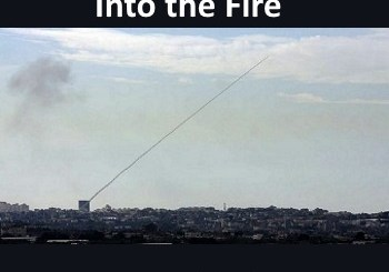 missile from Gaza - plus title of the article