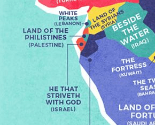 Literal translations of Israel and Palestine
