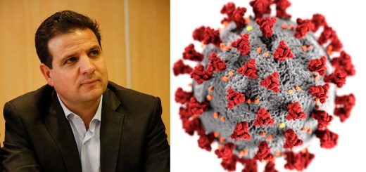 Ayman Odeh of the Joint List and the Corona virus