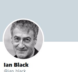 Ian Black - twitter page image