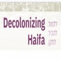 Title on online course description - Decolonizing Haifa