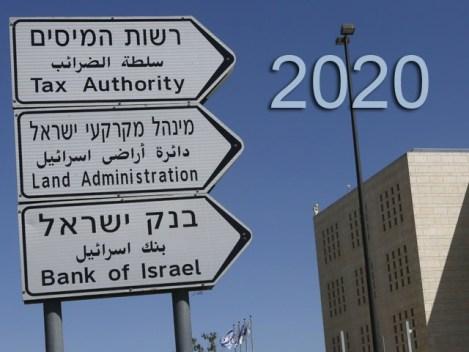 Законы и указы в Израиле, вступающие в силу 1 января 2020 года