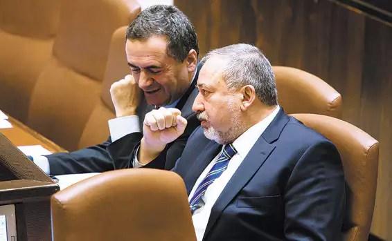 Image result for ליברמן ישראל כץ