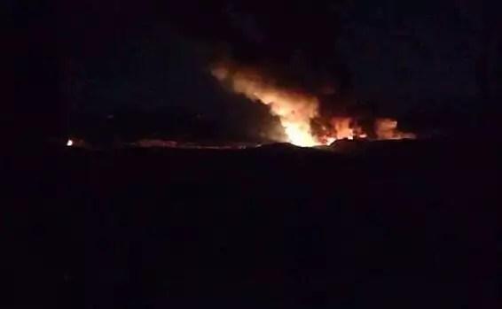 L'explosion dans la province de Deir a-Zour, dans l'est de la Syrie