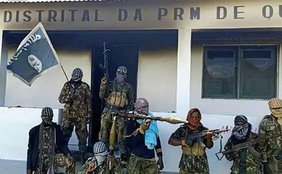 Les terroristes de l'Etat islamique au Mozambique