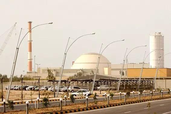 Le réacteur de Bushehr, février 2009 // Photo: IP