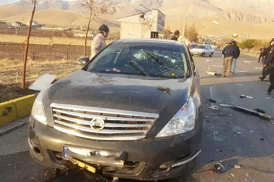 A été responsable du «Groupe d'armes».  Mohsin Fahrizadeh et sa scène d'assassinat // Photos: Reuters