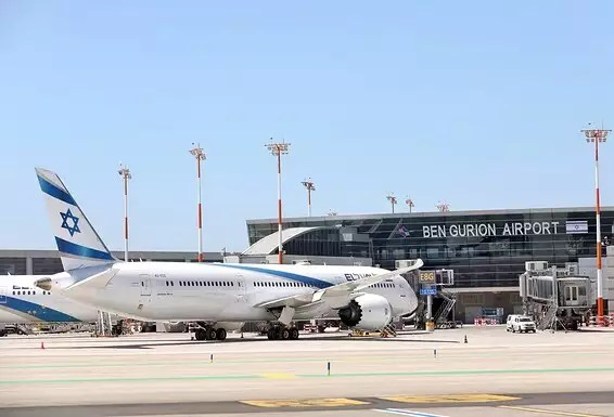 Avions El Al échoués à l'aéroport Ben Gurion // Photo: Gideon Markovich