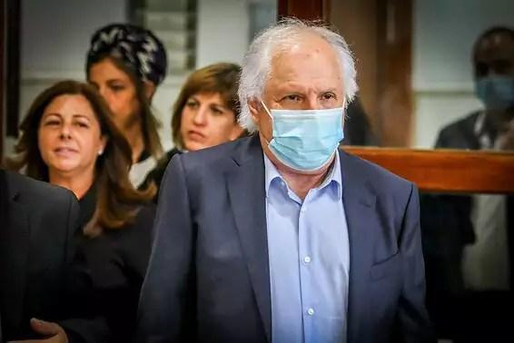 Elovich in court // Archive photo: Oren Ben Hakon