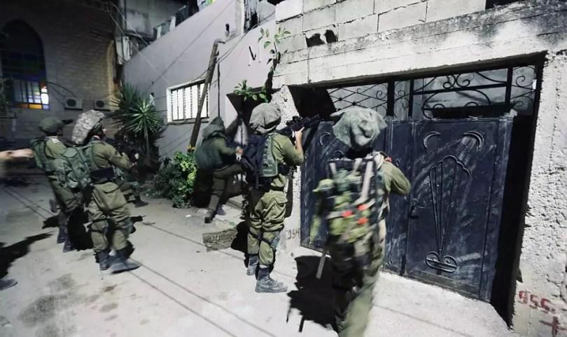 4 terroristes préparant une attaque imminente tués dans un affrontement nocturne avec les troupes de Tsahal