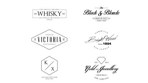 Etiquetas Vintage y Logos