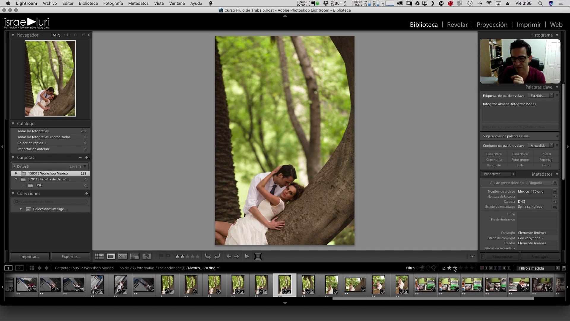 15 creación de presets de filtro y Guardado de presets
