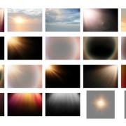 Superposiciones Rayos de Sol