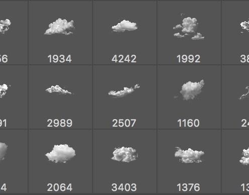 Pinceles de Nubes. Parte 3 de 4